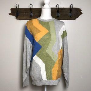 Vintage Grandpa Sweater St Croix Crewneck VSCO